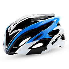 KINGBIKE Unisex Bike Helmet N/A Vents Cycling Cycling Mountain Cycling Road Cycling Recreational Cycling One Size EPS+EPUGreen Red Pink