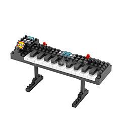 אבני בניין לקבלת מתנה אבני בניין צעצוע בניה ודגם פסנתר ABS גילאים 8-13 לדעוך שחור צעצועים