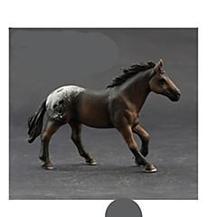 Modelo e Blocos de Construção Brinquedos Novidades Cavalo Plástico Preta