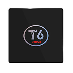 T6 Amlogic S905X Android TV Box,RAM 2GB ROM 16GB Dual Core WiFi 802.11n No