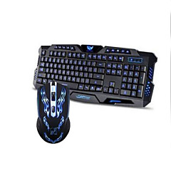 gaming Mouse USB 1600 gaming toetsenbord USB Multi kleur achtergrondverlichting