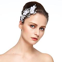 Damen Strass Chiffon Kopfschmuck-Hochzeit Besondere Anlässe Haarclip 1 Stück