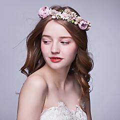 נשים בד כיסוי ראש-חתונה אירוע מיוחד חוץ זרי פרחים חלק 1