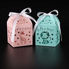 25 Stück / Set Geschenke Halter-Quader Perlenpapier Geschenkboxen Nicht personalisiert