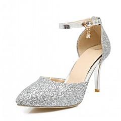 Women's Heels Spring Summer Fall Winter Comfort Novelty PU Synthetic Wedding Office & Career Party & Evening Dress Casual Stiletto Heel
