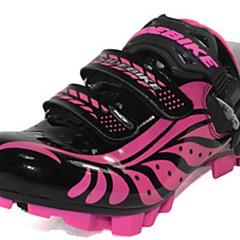 BODUN / SIDEBIKE® J000921 Sapatos para Ciclismo Tênis para Mountain Bike Mulheres Anti-Escorregar Respirável Bicicleta De MontanhaCouro