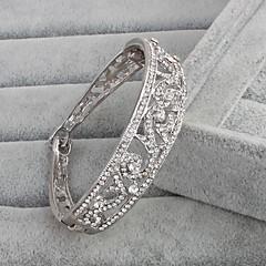 Bracelet Cuff Bracelet Rhinestone Others Vintage Wedding Anniversary Jewelry Gift Silver,1pc