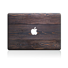 1 pièce Anti-Rayures Apparence Bois En Plastique Transparent Décalcomanie Motif PourMacBook Pro 15'' with Retina MacBook Pro 15 ''