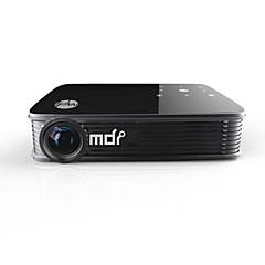 M90 DLP WXGA (1280x800) プロジェクター,LED 3000 ミニ 携帯式 HD Android ワイヤレス 3D DLP プロジェクター