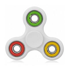 fidget spinner verlichten uw stress angst adhd bij volwassenen / kinderen - wit multicolor