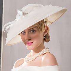 פשתן רשת כיסוי ראש-חתונה אירוע מיוחד קז'ואל קישוטי שיער כובעים חלק 1