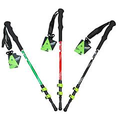 3 Pješačka Poljaci Planinarski štapovi Nordic Walking Poljaci 135cm (53 inča)Prigušivanje Izdržljiv Protiv klizanja Pokretni Duljina
