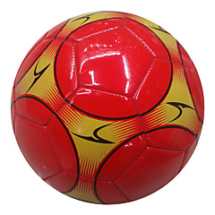 Football(Rouge,Polyuréthane)Haute élasticité Durable