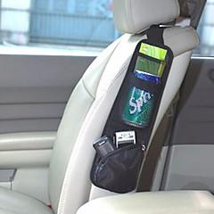 wasserdichtes Gewebe Auto Auto Fahrzeugsitzseite zurück Aufbewahrungstasche Rücksitz hängen Aufbewahrungsbeutel Veranstalter