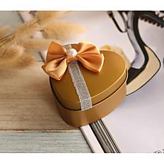 12 Stück / Set Geschenke Halter-Herzförmig Eisen vernickelt Süßigkeiten Gläser und Flaschen Geschenk Schachteln Nicht personalisiert
