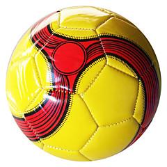 Football(Jaune Blanc Rouge,Polyuréthane)Haute élasticité Durable