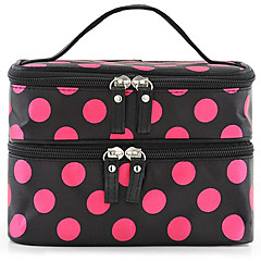 Cosmetic Bag Makeup Storage Spot 2 Tiers Removable Drawears 25.0 *17.0 *18.0