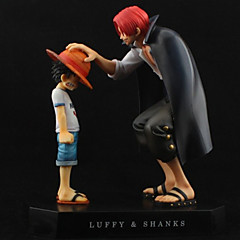 Anime Akcijske figure Inspirirana One Piece Monkey D. Luffy PVC 18 CM Model Igračke Doll igračkama