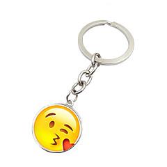 Key Chain サーキュラー Key Chain ピンク メタル