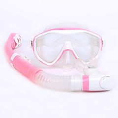 Kits para Snorkeling Snorkels Máscara de Mergulho Mergulho e Snorkeling Borracha Silicone-WHALE