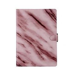용 카드 홀더 스탠드 자동 슬립/웨이크 기능 플립 마그네틱 케이스 풀 바디 케이스 마블 하드 인조 가죽 용 Apple iPad (2017) iPad Air