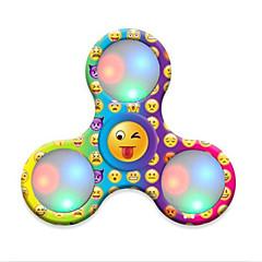 Spinners de mão Mão Spinner Brinquedos Tri-Spinner Plástico EDCO stress e ansiedade alívio Brinquedos de escritório Por matar o tempo