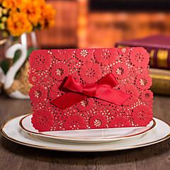 Wrap & Pocket Wedding Invitations Invitation Cards-50 Piece/Set Formal Style Vintage Style Flora Style Floral Style Card paper Card Paper