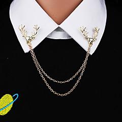 Herre Dame Annet Nåler Dyredesign Personalisert Euro-Amerikansk Gullbelagt Legering Dyreformet Smykker Til Daglig Avslappet