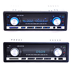 JSD-20158 12V Bluetooth Car Audio Auto Stereo Car Radio Player FM Receiver MP3 USB/SD Card/AUX in In-Dash 1 DIN Car Audio Player With Remote Control