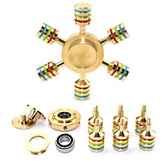 Fidget Spinner Hand Spinner Toys Toys Brass EDCRelieves ADD, ADHD, Anxiety, Autism for Killing Time Focus Toy Stress and Anxiety Relief