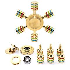 ハンドスピナー おもちゃ おもちゃ 真鍮 EDC ストレスや不安の救済 オフィスデスクのおもちゃ ADD、ADHD、不安、自閉症を和らげる キリングタイム フォーカス玩具 ハイスピード アイデアおもちゃ