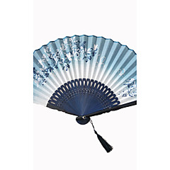 Fanoušci a slunečníky-1 Kusů v sadě Piece / Set Ruční ventilátorPlážový motiv Zahradní motiv Asijská motiv Květinový motiv Motýlí motiv