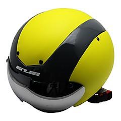 יוניסקס אופניים קסדה 13 פתחי אוורור רכיבת אופניים רכיבה על אופניים רכיבה על אופני הרים רכיבה בכביש מידה אחת One Size PC EPS צהוב