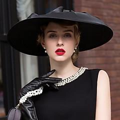 סאטן פשתן כיסוי ראש-חתונה אירוע מיוחד קז'ואל משרד וקריירה כובעים חלק 1