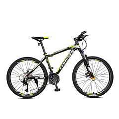 אופני הרים רכיבת אופניים 27 מהיר 700CC/26 אינץ' מיקרושיפט דיסק בלימה כפול מזלג שיכוך שלדת סגסוגת אלומיניום שלדת זנב קשהנגד החלקה סגסוגת