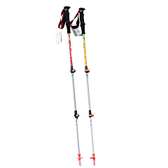 3 Nordic Wandelstokken 135cm (53 inch) Dempen Opvouwbaar Lichtgewicht Verstelbare pasvorm AluminiumKamperen&Wandelen Sneeuwschoenwandelen