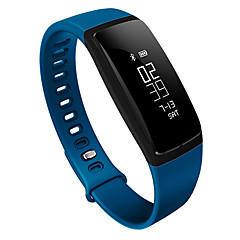 HFQ Bluetooth Смарт-браслетЗащита от влаги / Длительное время ожидания / Педометры / Медобеспечение / Спорт / Пульсомер / Сенсорный экран