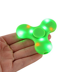 Trottole Spinner mano Giocattoli Tri-Spinner Plastica EDCAltoparlante Bluetooth per Killing Time Giocattolo di fuoco Libera ADD, ADHD,