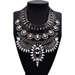 Žene Izjava Ogrlice Jewelry Jewelry Dragulj Legura Moda Euramerican Zlato Crn Pink Jewelry Za Party 1pc