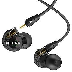 Mee-audio m6-pro estágio-ouvido auscultadores com um microfone movimento earplugs