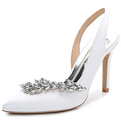 womens sandals summer fall slingback club shoes silk wedding outdoor office career party evening