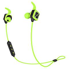Bluetooth hörlurar trådlösa sport hörlurar bas stereo öronproppar med öronkrok mikrofon prompten handsfree ljudreducering svettät för