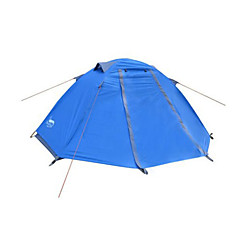 DesertFox® 1 사람 텐트 더블 베이스 캠핑 텐트 원 룸 접이식 텐트 방수 비 방지 울트라 라이트 (UL) 용 캠핑 2000-3000 mm 옥스포드 CM