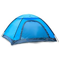 2 személy Sátor Egyszemélyes Összecsukható sátor Egy szoba kemping sátor 1000-1500 mm Üvegszál Oxford Vízálló Hordozható-Túrázás Kemping-