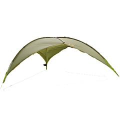 5-8 사람 쉘터 & 타프 싱글 캠핑 텐트 원 룸 자동 텐트 수분 방지 방수 자외선 방지 비 방지 통기성 용 하이킹 캠핑 여행 야외 <1000mm 유리 섬유 옥스포드 CM