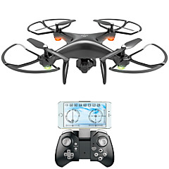 Drone RC 4-kanaals 6 AS 2.4G Met 2.0MP HD-camera RC quadcopterFPV LED-verlichting Terugkeer Via 1 Toets Auto-Takeoff Failsafe