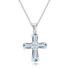 Dame Herre Anheng Halskjede Smykker Smykker Krystall Legering Unikt design Mote Euro-Amerikansk Smykker TilBryllup Fest Bursdag