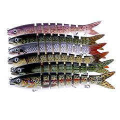 """6 個 Jerkbaits ミノウ グラム/オンス mm/7-3/4"""" インチ 海釣り スピニング バス釣り ルアー釣り 一般的な釣り 流し釣り/船釣り"""