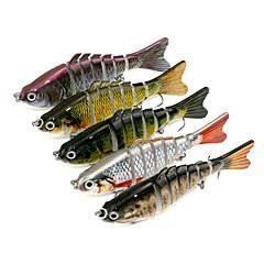 5 個 Jerkbaits ミノウ グラム/オンス,10cm mm インチ 海釣り スピニング バス釣り ルアー釣り 一般的な釣り 流し釣り/船釣り