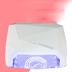36W nehty Sušičky UV lampa LED lampa Lak na nehty UV gel